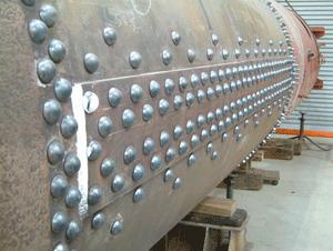 Hand-riveted-barrel-seam