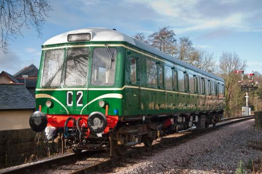 W55000 just outside Buckfastleigh Station - Sarah Anne Harvey