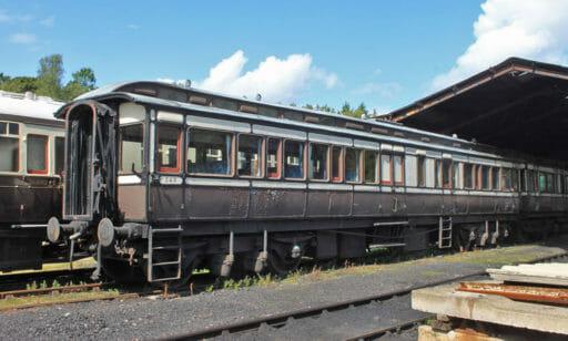 GWR coach 249 - at Buckfastleigh - Geof Sheppard