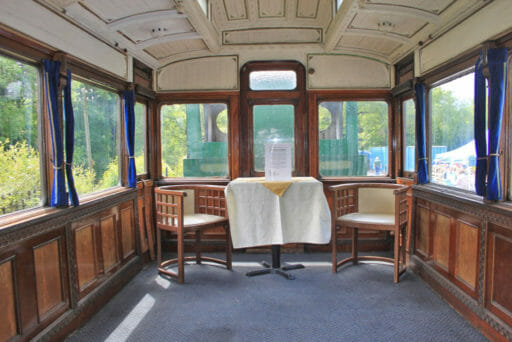GWR coach 249 - What was the original drawing room - Geof Sheppard