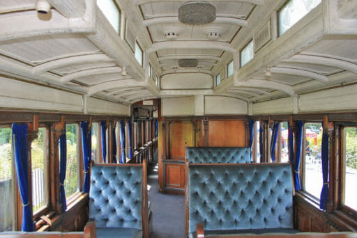 GWR coach 249 - What was the original dining room - Geof Sheppard