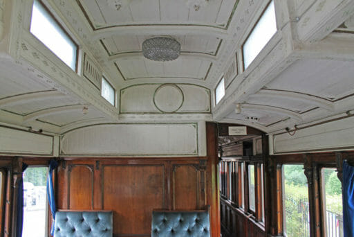 GWR coach 249 - The other end of the drawing room.
