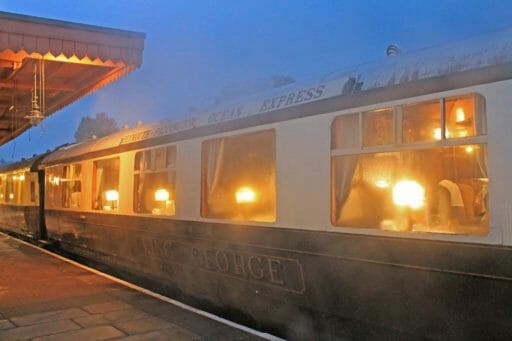 "9111 ""King George"" ready for an Dining Train service in 2016"