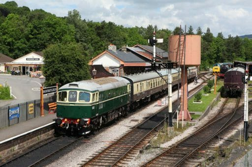 D6501 at Buckfastleigh in 2016. Photo by Rob Sherwood.