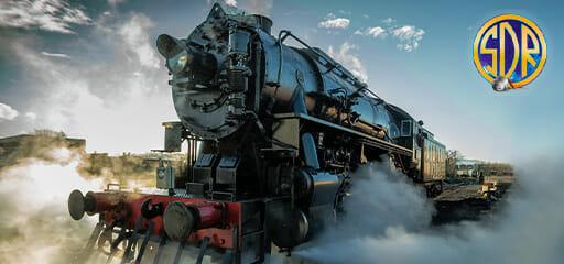 The Polar Express Steam Locomotive